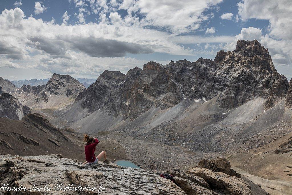 Depuis la Tête de la Fréma (3151 m)