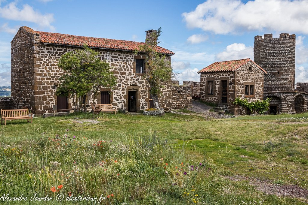 Le Château-fort de Polignac